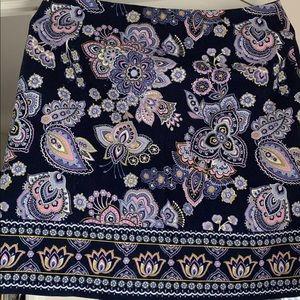 NWT Talbots paisley skirt